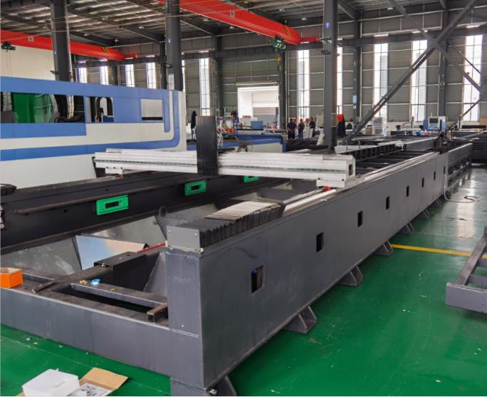 fiber laser cutting machine Bed