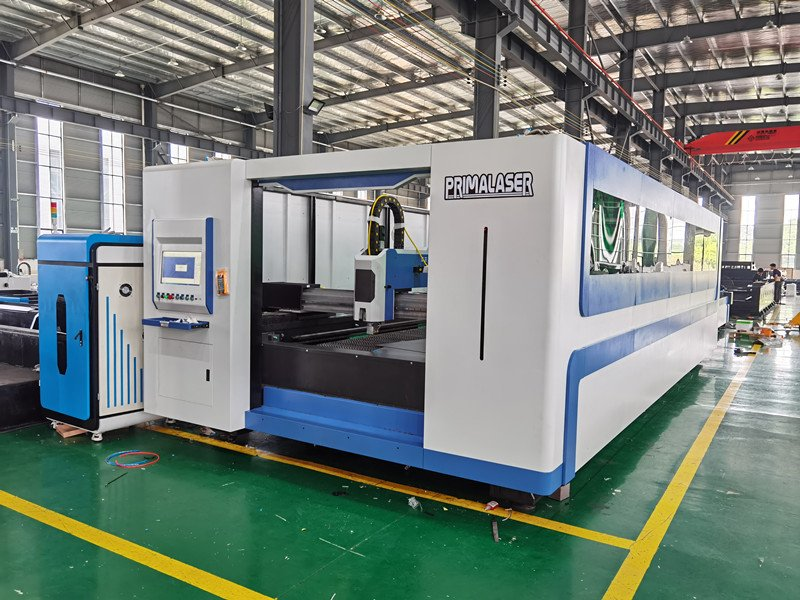 fiber laser cutting machine design