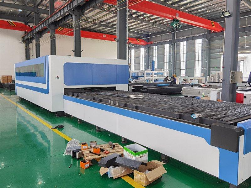 laser cutting machine Dual Pallet