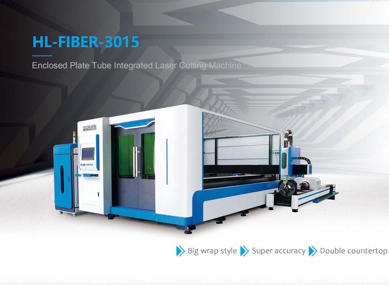 3 in 1 Tube Plate Integrated CNC Fiber Laser Cutting