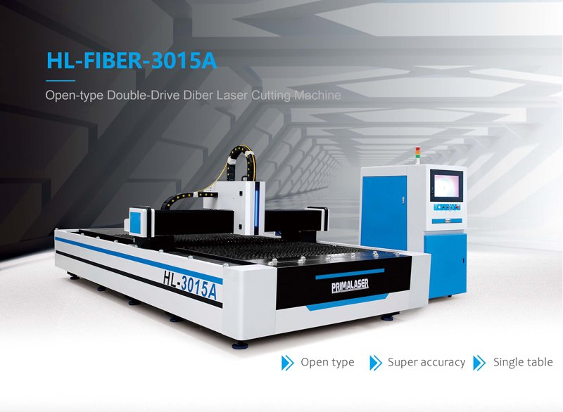 Open-Type Double-Drive Fiber Laser Cutting Machine
