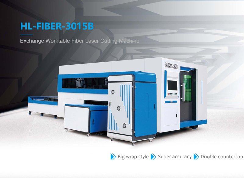 Exchange Worktable Fiber Laser Cutting Machine